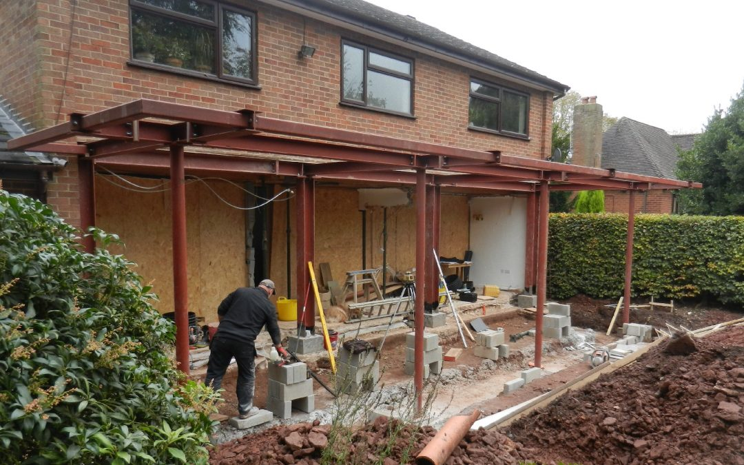 Modern House Extension – Staffordshire